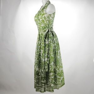 Jones New York -  Green Wrap Dress - Size 6